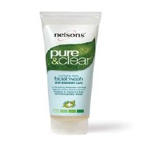 Nelsons Pure & Clear Daily Facial Wash 125ml