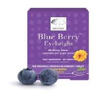 New Nordic Blueberry Eyebright 60 tablet