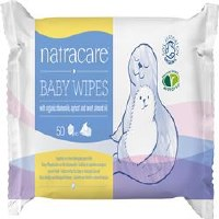 Natracare Organic Baby Wipes 50wipes
