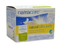 Natracare Ultra Pads Reg with Wings 14pieces
