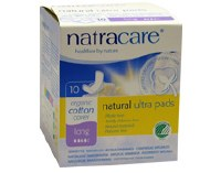 Natracare Ultra Pads Long with Wings 10pieces