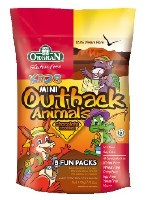 Orgran Outback Animals Multi Choc 175g