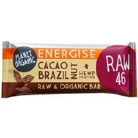Planet Organic Cacao Brazil Nut Energise Bar 30g