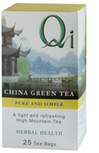Qi Green Tea Pure & Simple 25bag