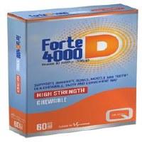 Quest Vitamins Ltd Forte D-4000 60 tablet