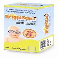 Quest Vitamins Ltd BRIGHTSTART D3 & DHA 30ml