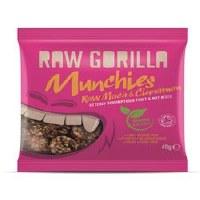 Raw Gorilla ORG. Maca & Cinnamon Munchies 40g