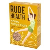 Rude Health Honey Puffed Oats 240g
