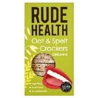 Rude Health Organic Oat and Spelt Crackers 130g
