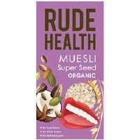 Rude Health Organic Super Seed Muesli 500g