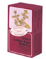 Floradix Lemon Balm Organic Herbal Tea 15bag