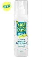 Salt Of the Earth Unscented Spray Deodorant 200ml
