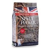 Sharpham Park Org Wholegrain Spelt Flour 1000g