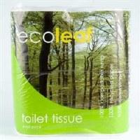 Suma Wholefoods Ecoleaf Toilet Tissue 4pack
