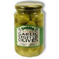 Sunita Garlic Stuffed Olives 1x360gm