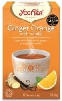 Yogi Tea Ginger Orange with Vanilla Tea 17bag