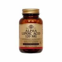 Solgar Alpha-Lipoic Acid 120 mg Veget 60