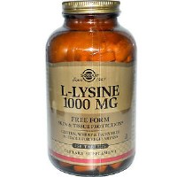 Solgar L-Lysine 1000 mg Tablets 250