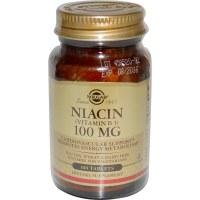 Solgar Niacin 100 mg (Vitamin B3) Tab 100