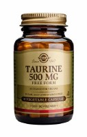 Solgar Taurine 500 mg Vegetable Capsu 50