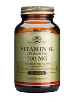Solgar Vitamin B1 100 mg (Thiamin) Ve 100