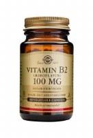 Solgar Vitamin B2 100 mg (Riboflavin) 100