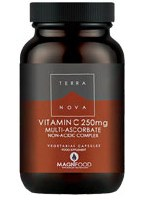 TERRANOVA Vitamin C 250mg Complex 50