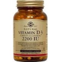 Solgar Vitamin D3 2200 IU (55 g) Ve 50