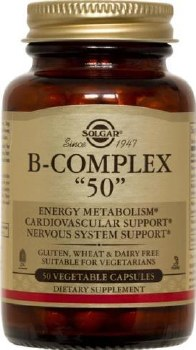 Solgar Vitamin B-Complex 50 Vegetable 50