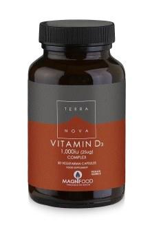 TERRANOVA Vitamin D3 1000iu Complex   50