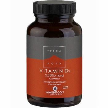 TERRANOVA Vitamin D3 2000iu Complex    50