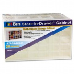 "ArtBin 14"" x 9"" x 6"" Store-in-drawer 30 compartments"