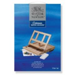 Cotman A3 Water Colour % Easel set