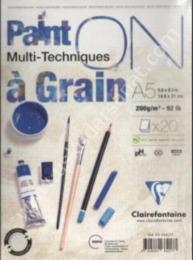Paint ON Multi-Techniques a Grain A5