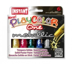 Playcolor One metallic poster paint sticks