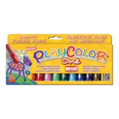 Playcolor One Poster Paint Sticks 12 pack