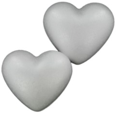 Polystyrene Hearts 78 mm