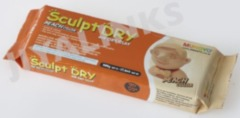 Sculpt Dry air dry clay 500g - peach