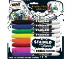 Stained by Sharpie Fabric Markers 8 Pack