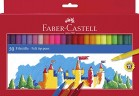 Markers - Faber Castell Colouring Markers Wallet of 50
