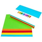 A4 Coloured Paper assorted colours 100 sheets
