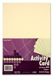 Premier A4 200gsm Activity Card 50 Sheets - Ivory
