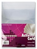 Premier A4 Metallic Silver Card 25 Sheets
