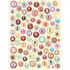 Abrianna Pillow Stickers Pack of 86