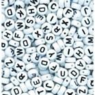 Alphabet (Letter) Beads - White