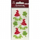 'ARTOZ' EMBELLISHMENTS RED FLO