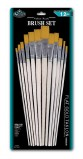 BRUSH SET FLT GOLD TAKLON