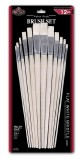 Round Taklon Brush Set Value Pack