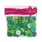 Buttons Pack 250g - Green