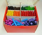 Crayons - Chublets Classroom Pack of 384
